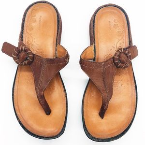☀️ Brown Leather Sandals by Rockport
